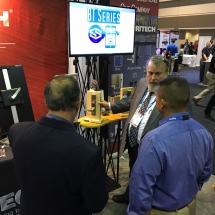 Securitech's Director of Product Management Dave Akins at ASIS International 2016