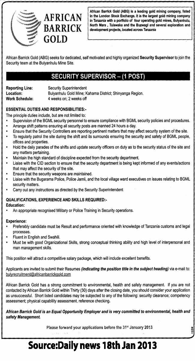Database Security Officer Job Description