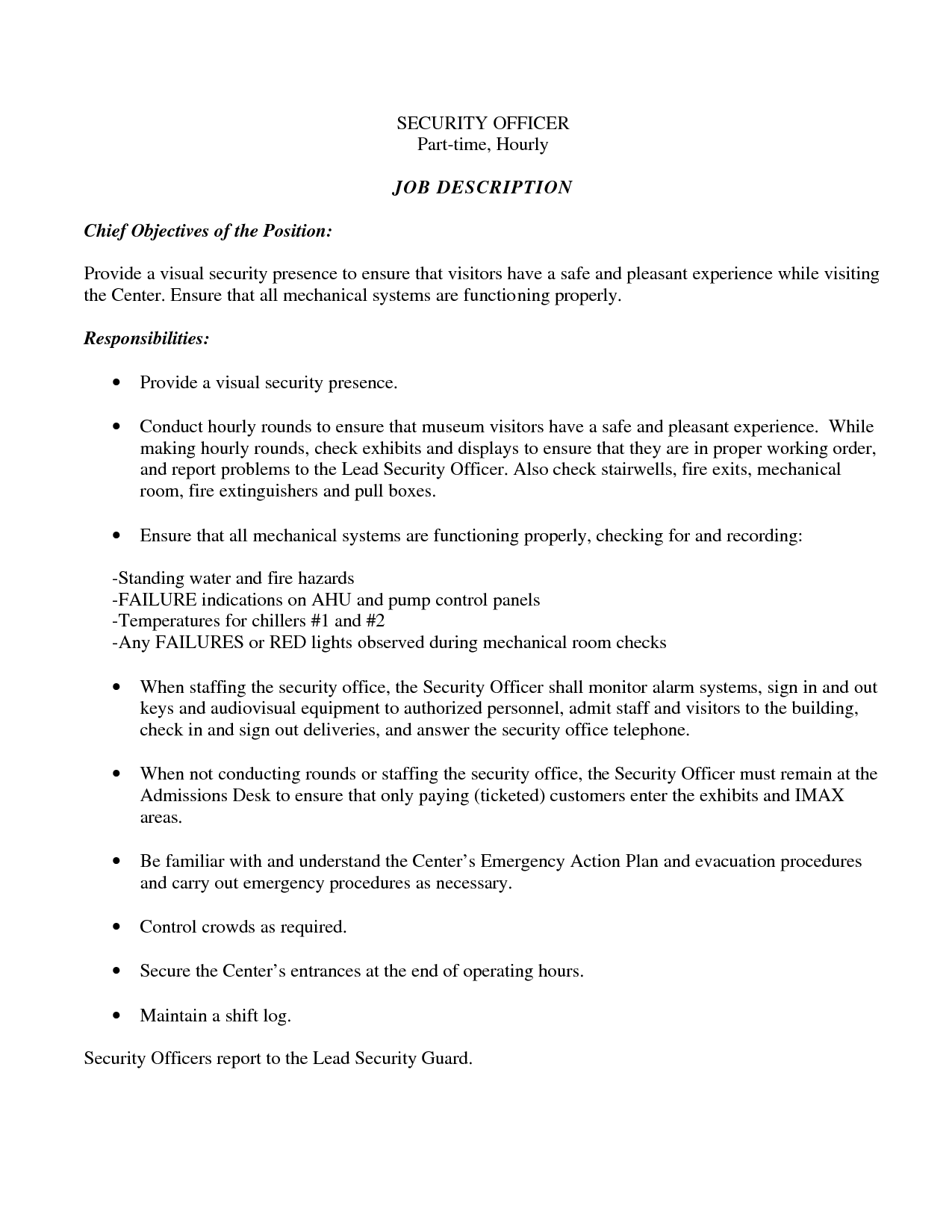 sample resume format for security guard resume for security guard security guard resume objective security - Security Guard Resume Objective
