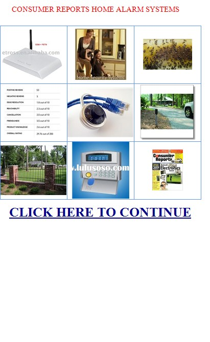 Consumer Reviews Home Security Systems