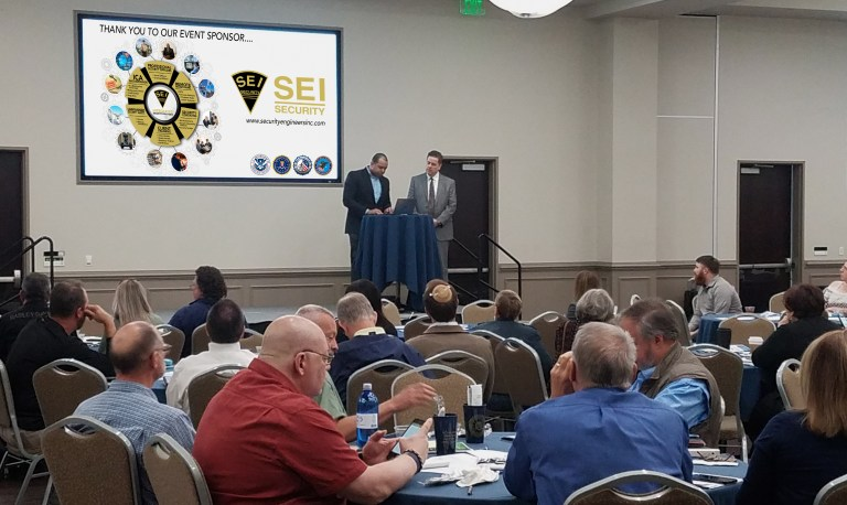Department of Homeland Security speaks at the Security Engineers, Inc. sponsored workshop Protecting Houses of Worship: Active Shooter & Violent Crimes Preparedness.