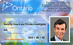 PSISA License sample