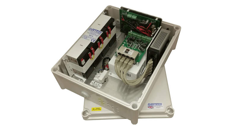 Dantech promote the benefits of separate Power & Ethernet