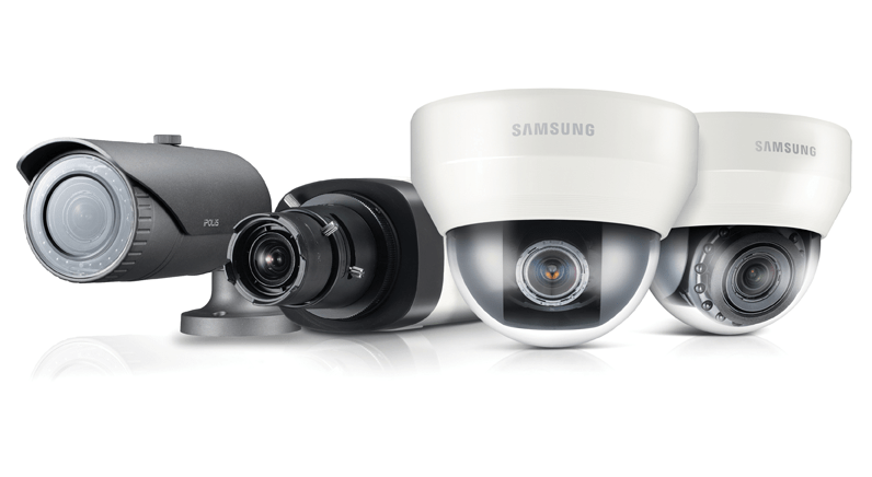 Samsung out-of-box applications on WiseNetIII cameras