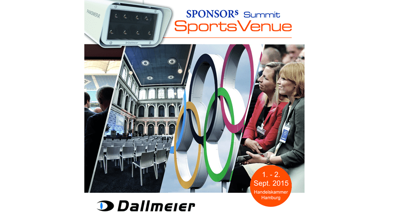 Dallmeier to exhibit at the SPONSORs Sports Summit