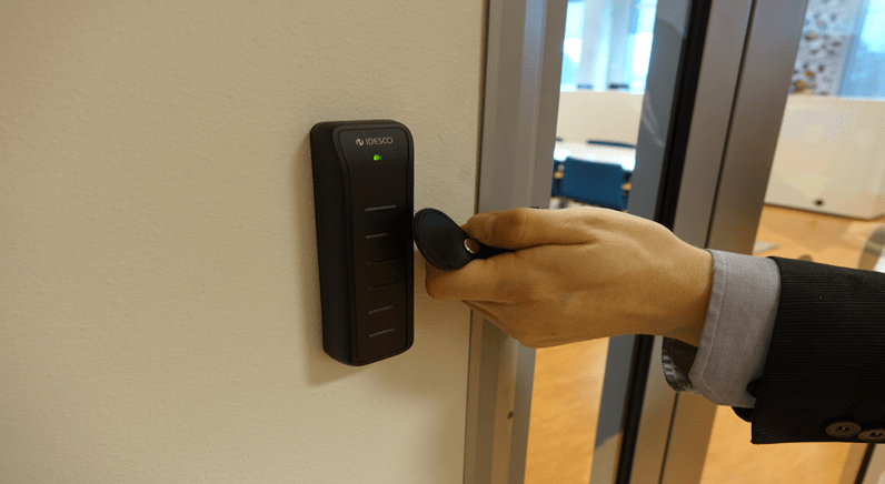 Access Control Visual for Finnish Company by Milestone