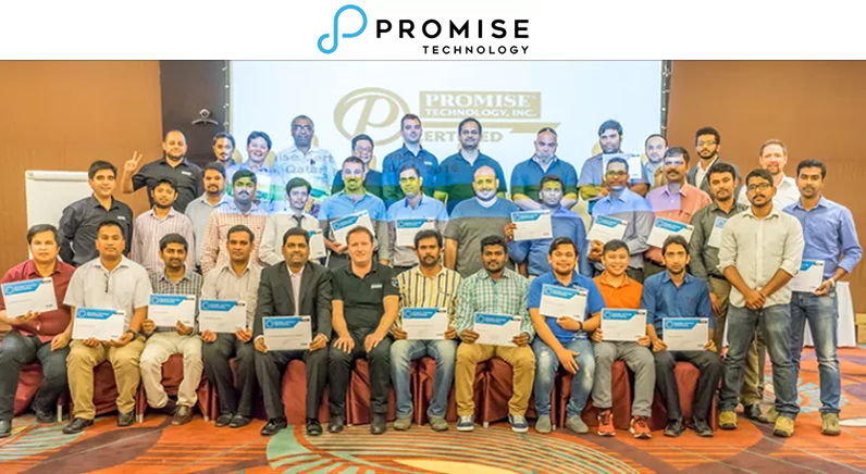 Promise Technology addresses the recording and storage needs