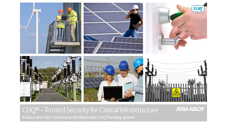 Download ASSA ABLOY's Critical Infrastructure whitepaper here!