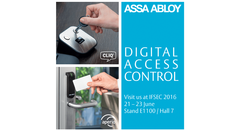 ASSA ABLOY announces new commercial access solutions at IFSEC