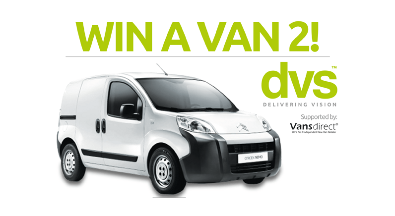 WIN A VAN returns to security products distributor DVS Ltd
