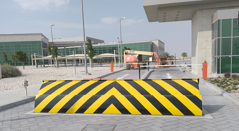 Frontier Pitts installation in the ME provides high security