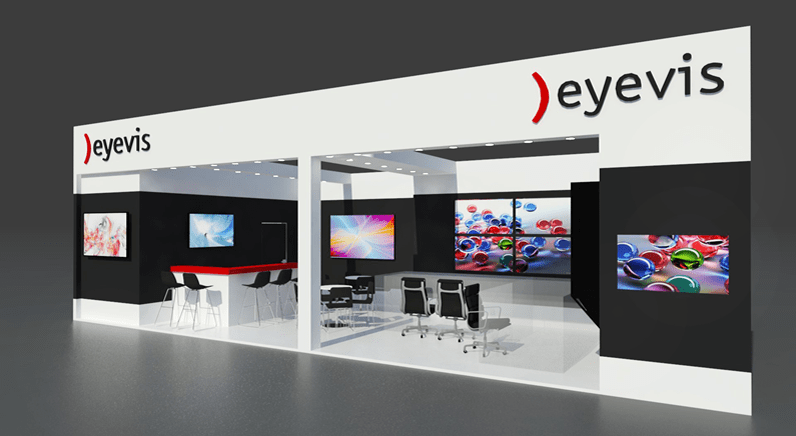 eyevis 24/7 control room solutions at Security Essen