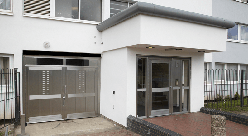 ASSA works with Warrior Doors to secure social housing bin stores