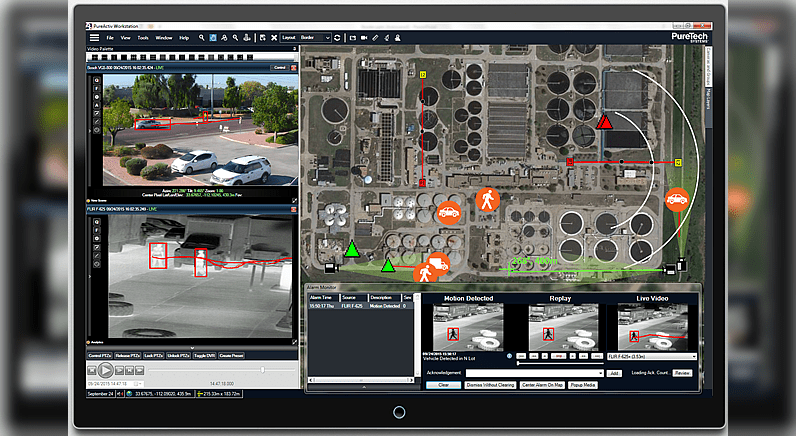 "PureTech Systems shows its ""dark side"" with the enhanced user interface"