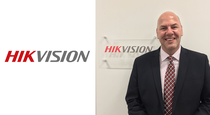 Andy Coles joins Hikvision UK & Ireland as Key Account Manager