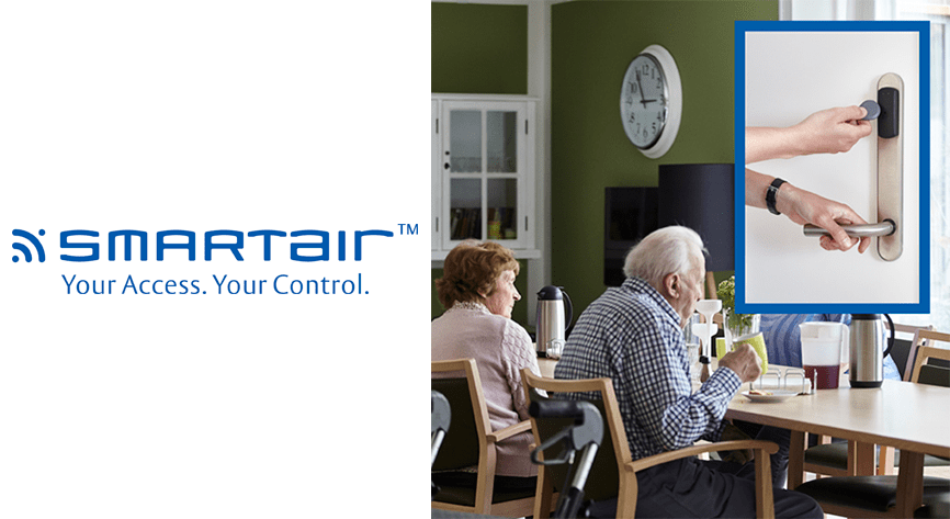 SMARTair™ brings added flexibility and security to a Danish care home