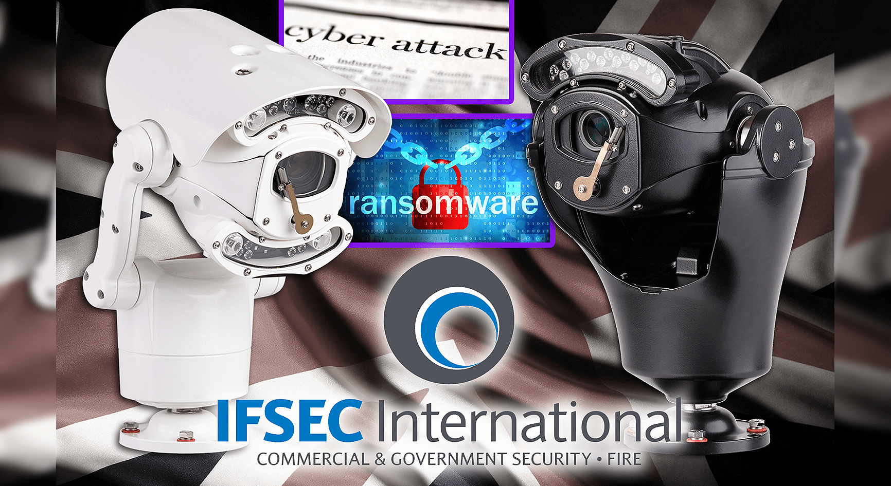 360 Vision Technology fields SSL & 802.1X encryption protected cameras at IFSEC 2017