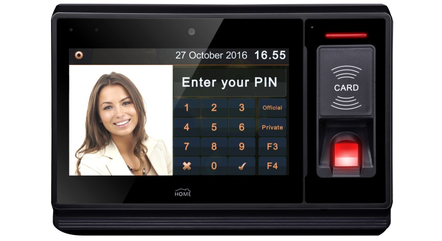 Civintec uTouch makes smart phone a credential for door access