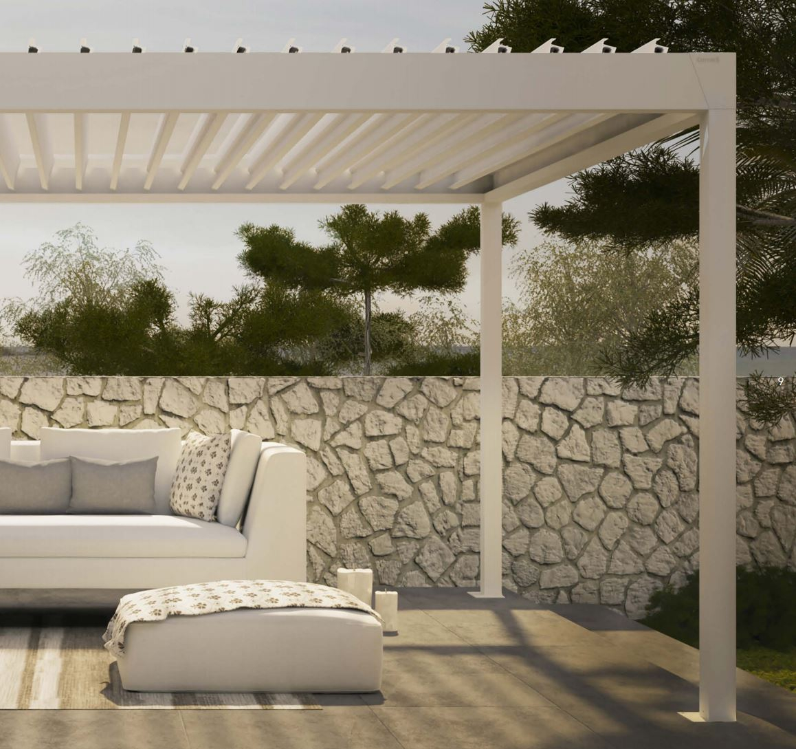 louvered roof patio porch covers