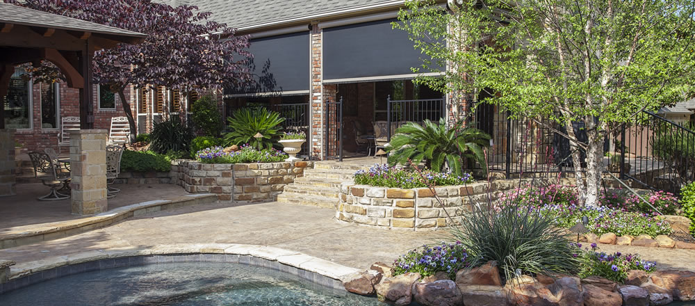 motorized retractable screens for