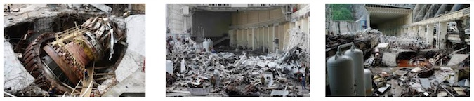 Sayano-Shushenskaya Blast Damage