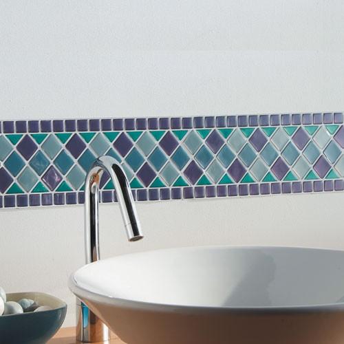 Sedao Vente Decoration Frise Adhesive Mosaique
