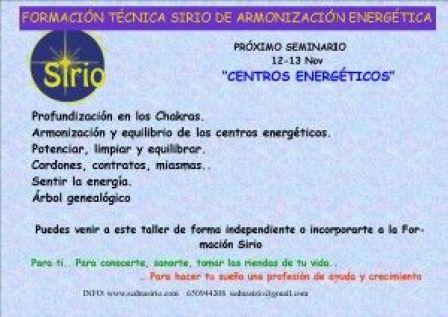 CENTROS ENERGETICOS