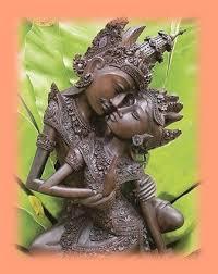 escultura shiva shakti