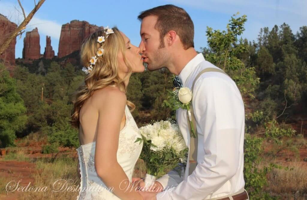 Samantha Aaron Sedona Wedding