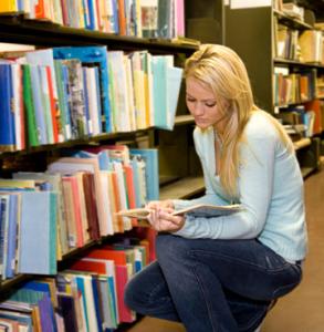 draguer fille librairie