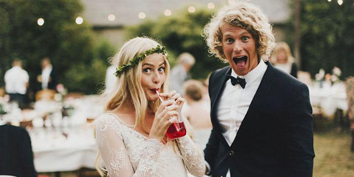 draguer lors d'una mariage