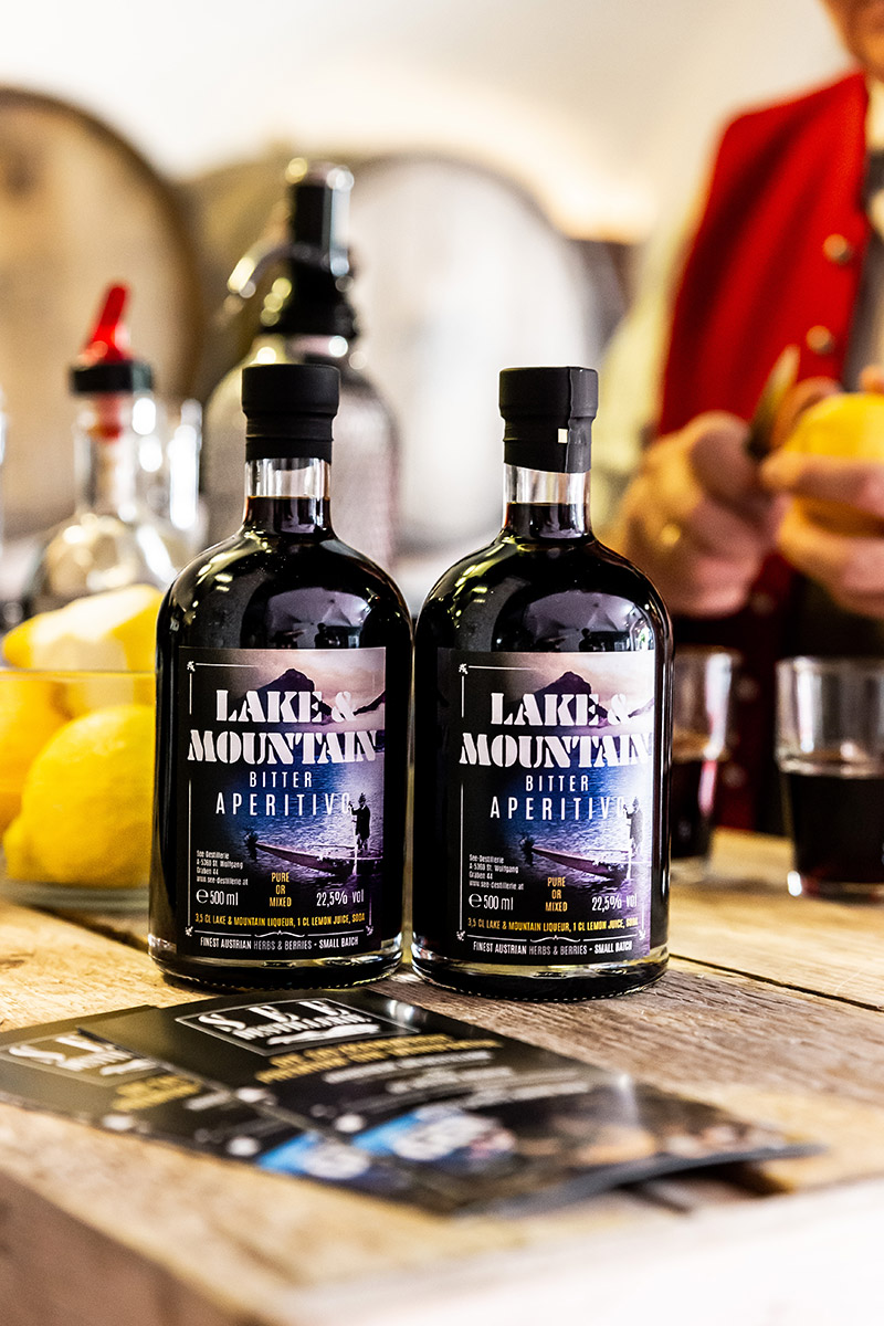 Lake & Mountain Aperitif aus der SEE-DESTILLERIE®