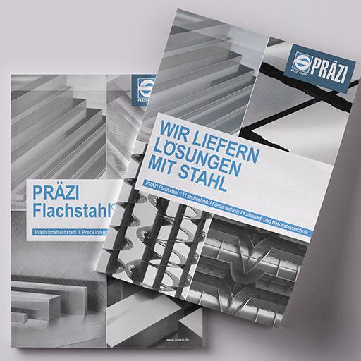 Logo, Briefpapier, Firmenschilder, Fensterbeschriftungen, Broschüren, Kataloge, Fuhrpark, Messestände und Website.