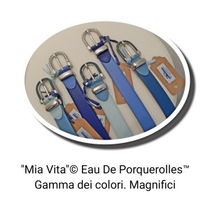 "Cinture Eau De Poquerolles ""Mia Vita"""