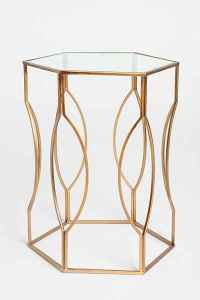 Urban Outfitters - Hexagon Side Table