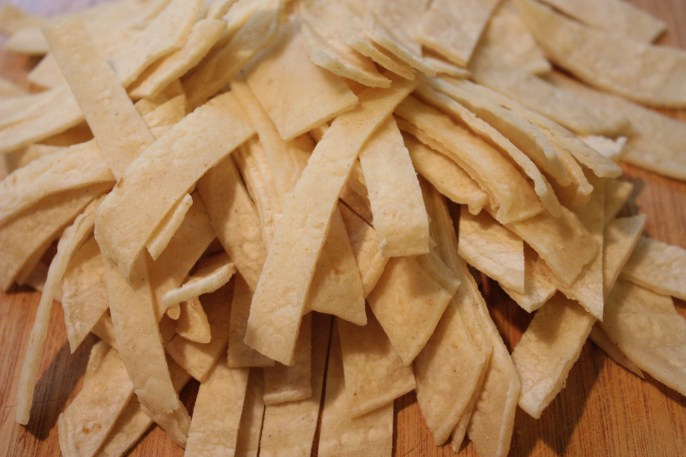 Chicken Tortilla Soup Tortilla Strips