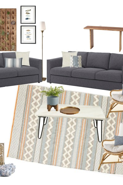 Casual Living Room – Photoshop