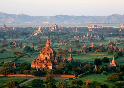 Temple Tours of Bagan & Balloons from Above