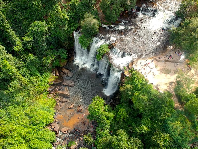 Cambodia & Thailand Phnom Kulen tour