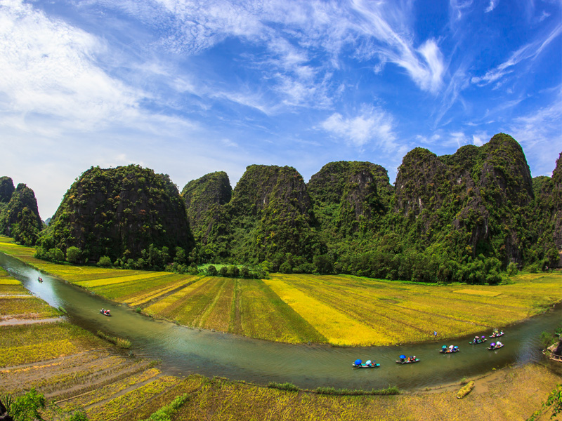 Visit Ninh Binh on your Vietnam holiday