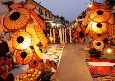 Luang Prabang (Alms, Markets & City Tours)