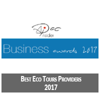 asia holidays eco tours award