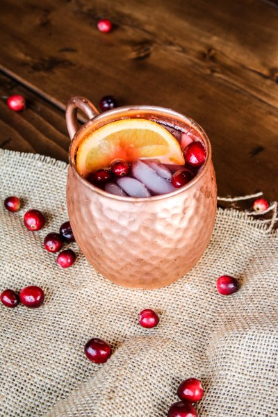Cranberry Orange Moscow Mules
