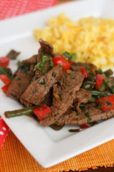 Thai Basil Beef   {GF, Paleo}