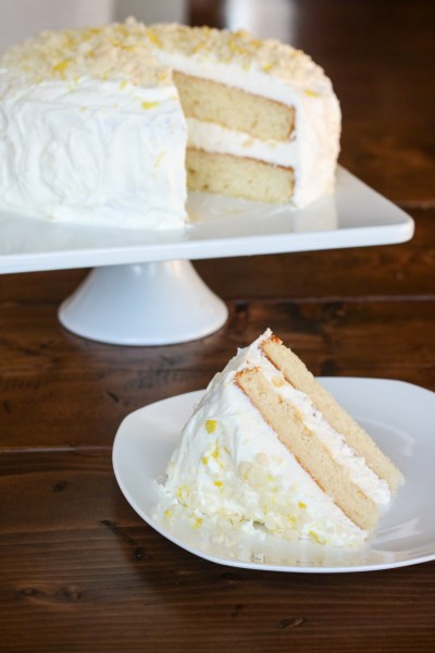 Gluten Free Lemon Cream Cake (Olive Garden Copy Cat)