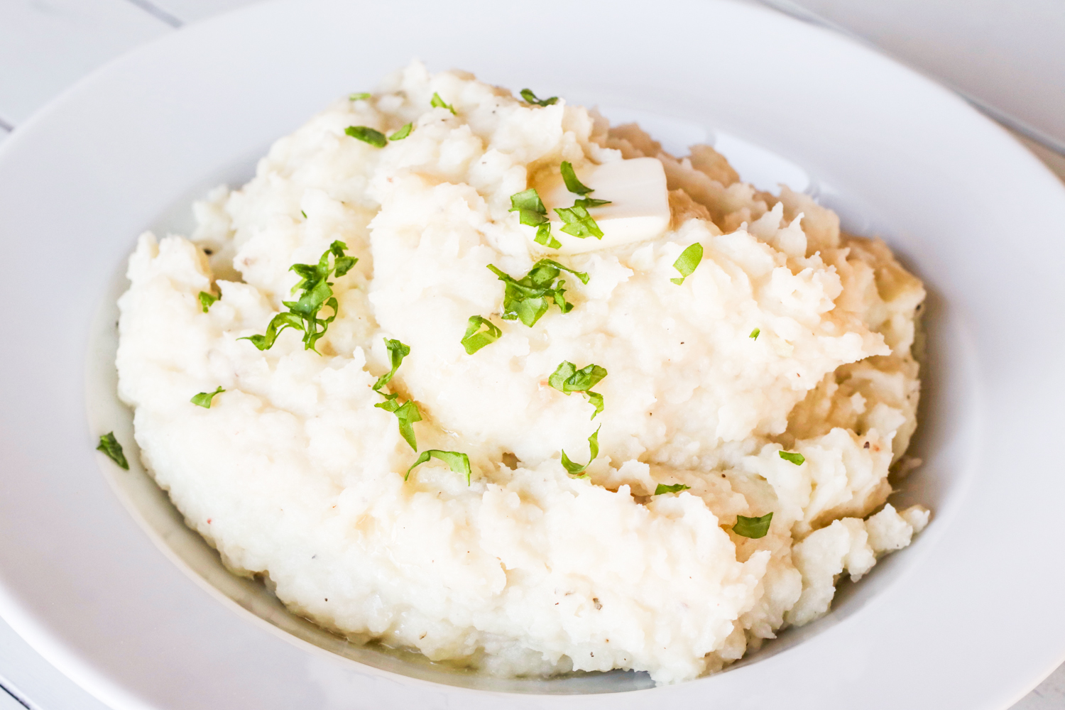 Easy Slow Cooker Mashed Potatoes