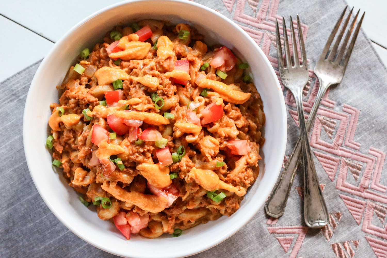 Vegan Hamburger Helper {Gluten Free}