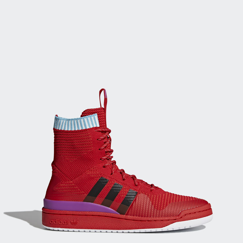 fd14f5ded5c1e Now the Adidas Forum primeknits actually look like winter sneakers to me.  again with the weatherproof primeknit upper. the high top looks simple yet  still ...