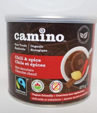 HOT CHOCOLATE POWDER COCOA CAMINO CHILI 275G
