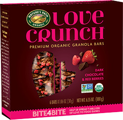 Box of Nature's Path Love Crunch snack bars